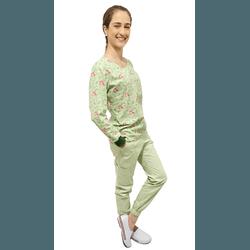 Pijama Cirúrgico Feminino Trendy - Sereia