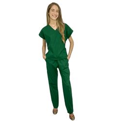 Pijama cirúrgico feminino verde oliva