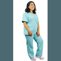 Pijama cirúrgico feminino verde água