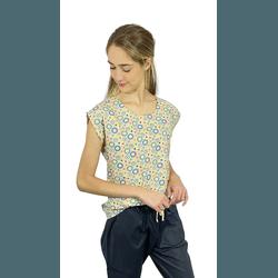 Scrub Cirúrgico Feminino Trendy 100% algodão - Mandalas - Empório Materno