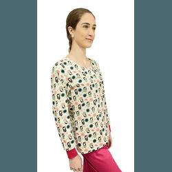 Scrub Cirúrgico Feminino Trendy - Gueixa (D3)