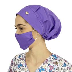 Touca - Máscara Lilás - Empório Materno