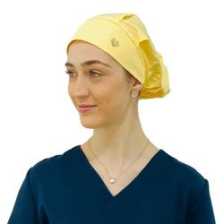 Touca de elástico - Amarela - Empório Materno