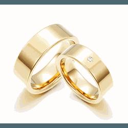 Alianças Pacifico 8mm ♥ Casamento E Noivado Tungst... - FABILE
