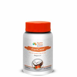 CartCoco 1000mg 60 cápsulas - Fauna e Flora l Sua Loja Online de Produtos Naturais