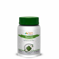 Matchá com Vitaminas A, C, E e Zinco 500mg 60 cáps... - Fauna e Flora l Sua Loja Online de Produtos Naturais