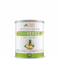 Chá Verde Instantâneo Diurético com Abacaxi 200g - Fauna e Flora l Sua Loja Online de Produtos Naturais