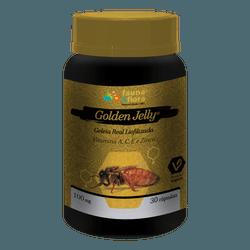 Geleia Real Liofilizada Golden Jelly 100mg 30caps - Fauna e Flora l Sua Loja Online de Produtos Naturais