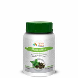 Pholia Negra Vitamina A, C, E e Zinco 500mg - 30 c... - Fauna e Flora l Sua Loja Online de Produtos Naturais