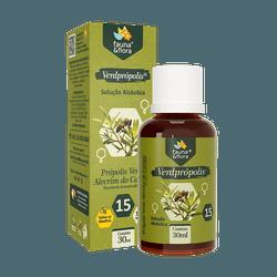 Própolis Verde Alcoólico: VerdPrópolis 15% 30ml - Fauna e Flora l Sua Loja Online de Produtos Naturais