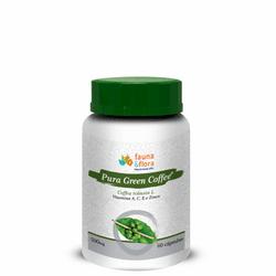 Extrato de Café - Pura Green Coffee 500mg 60 cápsu... - Fauna e Flora l Sua Loja Online de Produtos Naturais