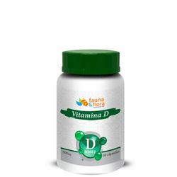 Vitamina D 500mg 30 cápsulas - Fauna e Flora l Sua Loja Online de Produtos Naturais
