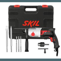 Martelete SDS 220V 1859 750W + 5 AC Bosch L Skill... - FERTEK FERRAMENTAS