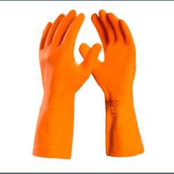 Luva Latex Laranja Max Orange T-GG Danny DA208D XG... - FERTEK FERRAMENTAS