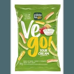 Snack Vego Sour Cream 30g - 17452 - Fitoflora Produtos Naturais