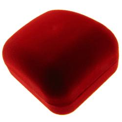 Caixa De Veludo Para Aliança - CXV5 - FloriPratas