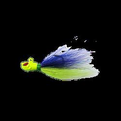Isca Yara Killer Jig 2/0 - 10g Cor Verde e azul - Focanapesca