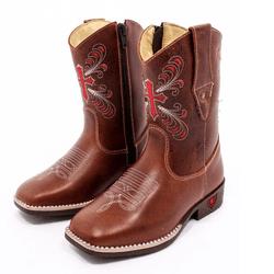 bota texana infantil bordada CRUZ - FB2021104 - FRANCABOOTS
