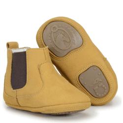 Botina Bebê Country Infantil Em Couro castor - CP... - FRANCABOOTS