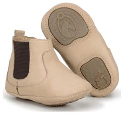 Botina Bebê Country Infantil Em Couro marfim - CP... - FRANCABOOTS