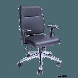 Cadeira Izzi Diretor giratoria- Plaxmetal - cadeir... - FRANCOLIVETTI