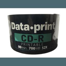 CD-R DATAPRINT 700MB / 52X - PRINTABLE C/1.000UN. - FRANMIDIAS