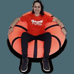 Pufe Bola De Basquete - puff - GOOD PUFES