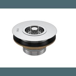 Válvula de escoamento para pia de cozinha 1623c - ... - Hidráulica Tropeiro