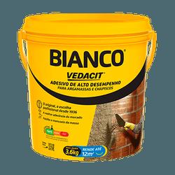ADESIVO BIANCO RESINA BALDE 3,6L VEDACIT - IMPERMIX