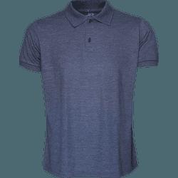 Camisa Polo Masculina Marinho Mescla - 4097 - JR Confeções
