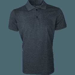 Camisa Polo Masculina Preto Mescla - 4097 - JR Confeções