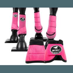 Kit Completo Cloche e Caneleiras Color Pink Boots ... - LETÍCIA COUNTRY IMPORT'S