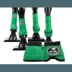 Kit Completo Cloche e Caneleiras Color Verde Escur... - LETÍCIA COUNTRY IMPORT'S