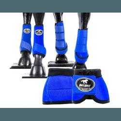 Kit Completo Cloche e Caneleiras Color Azul Royal ... - LETÍCIA COUNTRY IMPORT'S