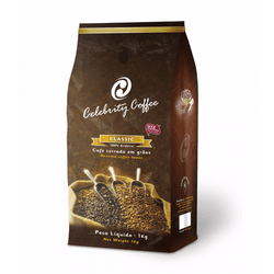 Café Celebrity Coffee - Torrado em Grãos - 1Kg - LOJACAFENOBRASIL