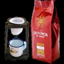 Kit - Café Excelência - de Araxá - Café Superior t... - LOJACAFENOBRASIL