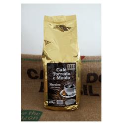 Café Marafon - Café torrado e moído - 500g - LOJACAFENOBRASIL