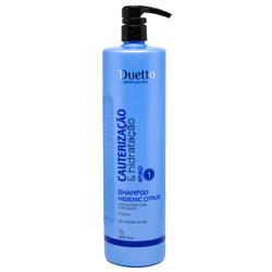 Shampoo Higienic Citrus C/Propolis Duetto 1L - Duetto Super - Cosméticos Profissionais