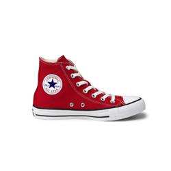 Tênis Converse Cano Alto All Star Vermelho CT00040... - Loja Mônica's