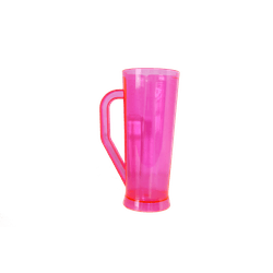 Caneca Long Rosa Neon 400 ml - Caixa com 50 unidad... - LOJA POPSTAMP