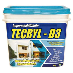 TECRYL IMPERMEABILIZANTE 3,6L - Marajá Tintas
