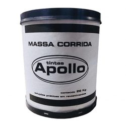MASSA CORRIDA APOLLO BR 25KG - Marajá Tintas
