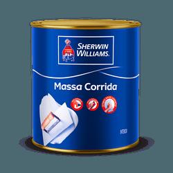 MASSA CORRIDA Sherwin Williams 900ML - 1,5KG - Marajá Tintas