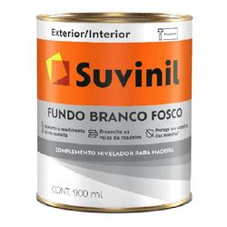 FUNDO FOSCO BRANCO 900ML SUVINIL - Marajá Tintas