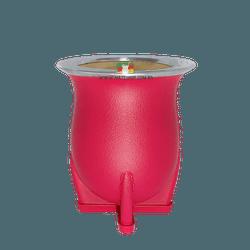 Cuia Torpedo Color em Porongo Revestida - Mate Shop