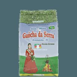 Erva-Mate Gaúcha da Serra Moída Grossa 1Kg - Mate Shop