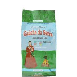 Erva-Mate Gaúcha da Serra Tradicional 1Kg - Mate Shop