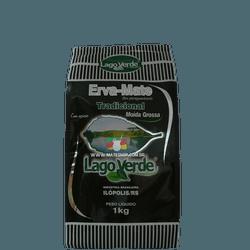 Erva-Mate Lago Verde Moída Grossa Com Açúcar 1Kg - Mate Shop