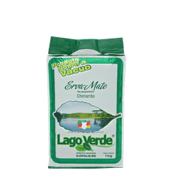 Erva-Mate Lago Verde Nativa a Vácuo 1Kg - Mate Shop