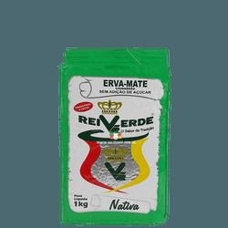 Erva-Mate Rei Verde Nativa a Vácuo 1Kg - Mate Shop